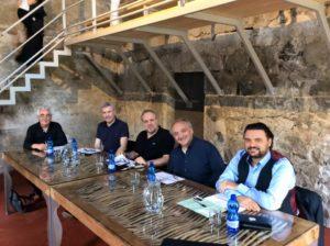 (da sx) Loriano Berti, Pier Carlo Orizio, Umberto Fanni, Fabrizio Maria Carminati, Luca Blasio